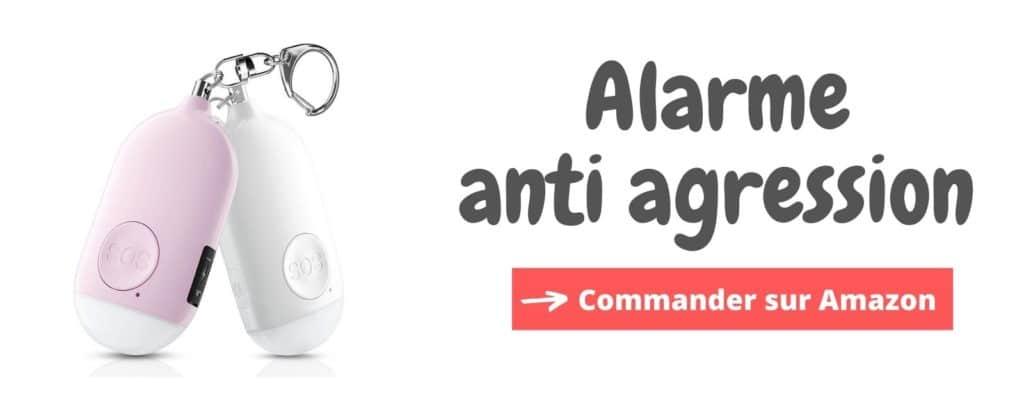 Bannière Alarme Anti agression