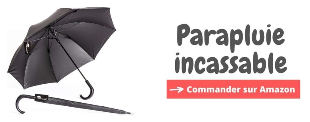 Bannière Parapluie Incassable